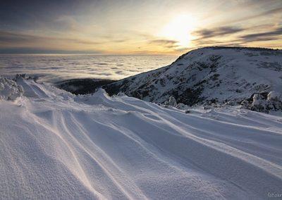 kotlik sníh